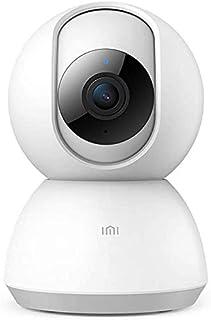 كاميرا شاومي آي بي لاسلكية للأمان في المنزل، كاميرا ميي الذكية للمراقبة 1080 بكسل مع صوت ثنائي الاتجاهات، كاميرا داخلية 2.4 جيجا هرتز بشاشة لكبار الأطفال الرضع، رؤية ليلية عالية الدقة بواسطة آي إم آي