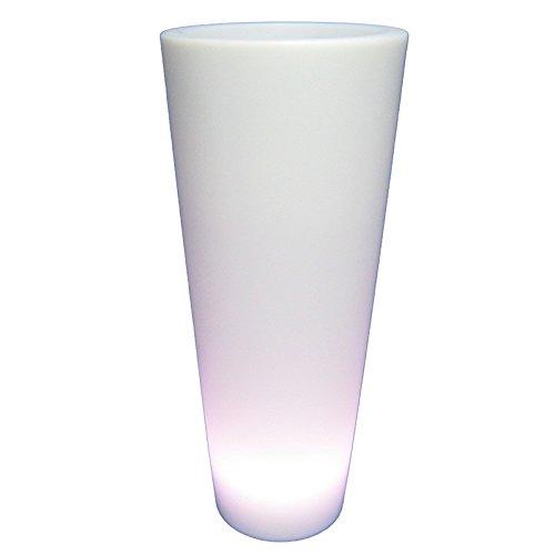 Blumenkübel Pflanzentopf LED Blumentopf XL 88 cm Fernbedienung 16 Farben