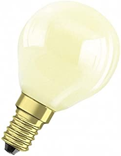 Osram Décor P Colored Bulb Incandescent Lamps, Yellow, OPD11W/M/S/YELLOW