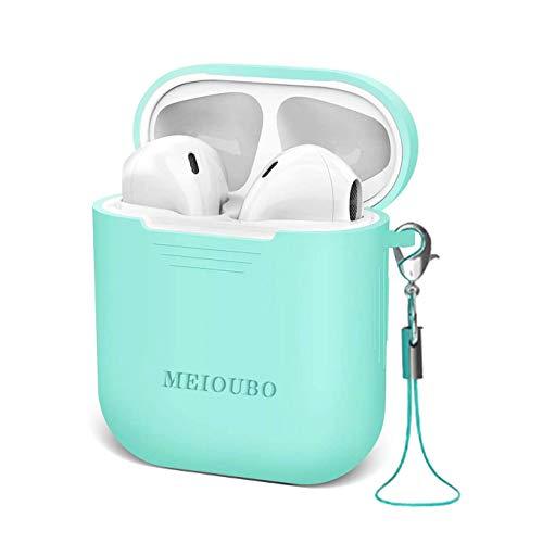 Auriculares Inalámbricos Auricular Bluetooth in-Ear Cuenta con Reducción de Ruido HD Anti-Sudor Micrófono y Caja de Carga Incorporados Compatible con Airpods iPhone iOS Android Huawei Xiaomi