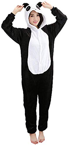 Adulte Kigurumi Unisexe Anime Animal Costume Cosplay Combinaison Pyjama ou Déguisement - Panda Taille L