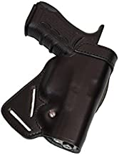 ALIS470 Small of Back Leather Concealment Holster for Glock 19 23 29 32 Genuine Leather Handmade!