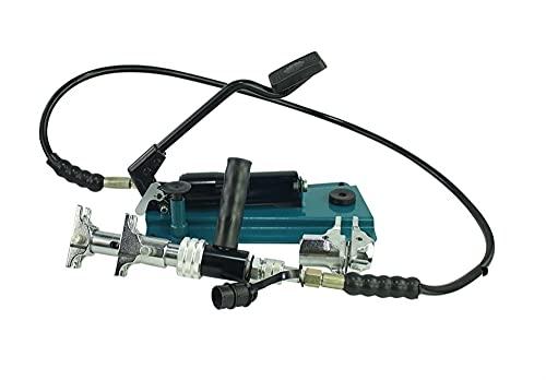 LTH-GD Manguera hidráulica engarce Herramientas de sujeción de tubería hidráulica Herramientas de prensamiento con Bomba de pie 16-32mm PEX-1632F Herramienta de Manguera de Encuadre de CA