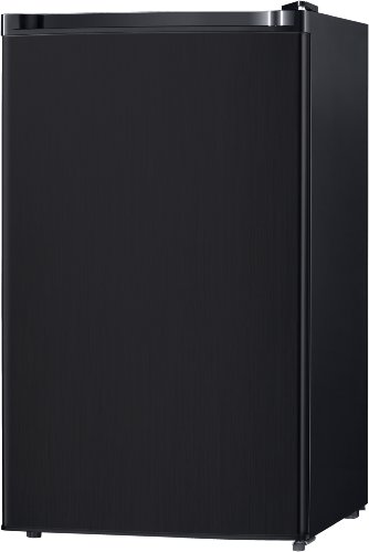 Midea WHS-160RB1 Single Reversible Compact Refrigerator, 4.4 Cubic Feet, Black