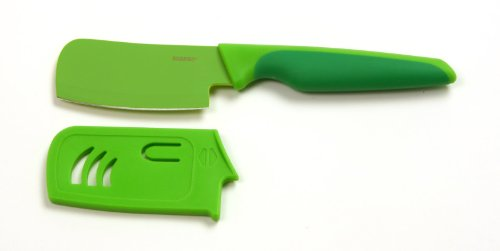 Norpro Grip-EZ Mini Chop, Mince and Slice Cleaver, One Size, Green