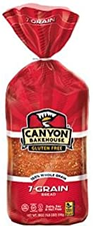 Canyon Bakehouse Gluten Free San Juan 7 Grain Bread 18oz. (Pack of 4)