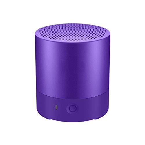 SFBBBO Altavoz Bluetooth Altavoz Bluetooth portátil Altavoz Bluetooth inalámbrico Impermeable Sonido estéreo Manos Libres Electrostático Tweeter Púrpura
