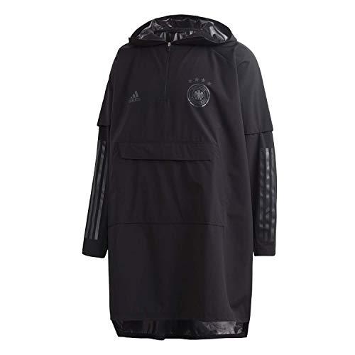 adidas Herren Mantel DFB Poncho, Negro, S, FL7915