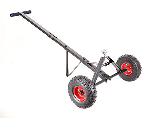 New 600 lbs Heavy Duty Trailer Dolly w/Non-Flat Solid Tires