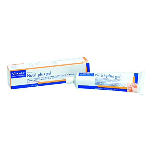 Virbac Nutri Plus Gel Paste Vet, 1er Pack (1 x 121 g)