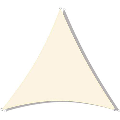 FWML Impermeable Toldo Vela de Sombra Triangular,95% Protección Rayos UV, para Exteriores Jardín Patio(Tamaño de Color Opcional)