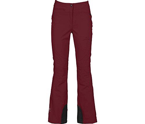 Bergson Switch Softshell skibroek voor dames, winddicht, waterafstotend, elastisch, ademend, binnenbeenversterking, smalle pasvorm