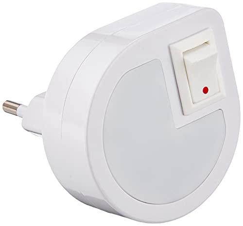 Velamp IL35 Punto Luce LED con Interruttore On/Off, Bianco
