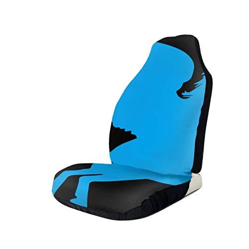 2PCS Pegasus Clipart Sitzbezüge für Auto Truck Auto SUV Style Sitzbezug für Auto UV
