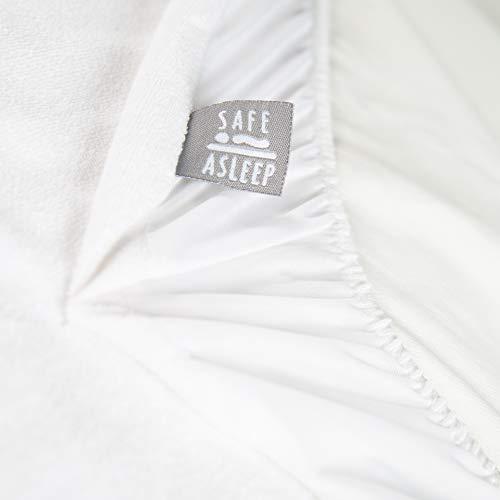 roba Matratzenschoner safe asleep mit Feuchtigkeitsschutz für Matratzen 40x90cm bis 45x90cm, weiß, 204200FRWE