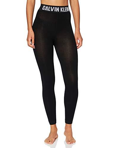 Calvin Klein Socks Womens Legging 1p modern Logo Kara Tights, Black, M
