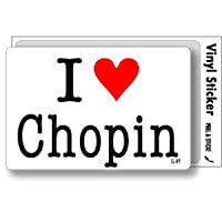 ILBT-129 アイラブステッカー I love Chopin (ショパン) ステッカー