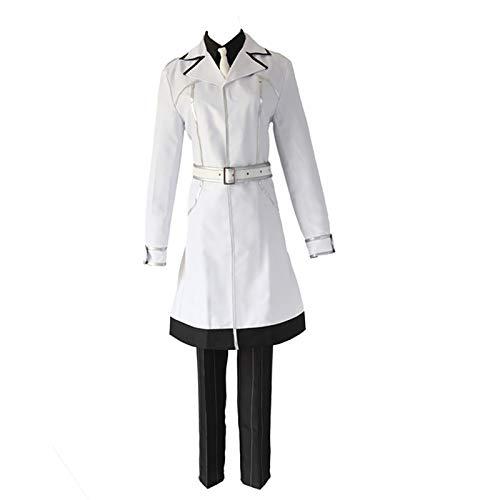 Anime Cosplay investigador Haise Sasaki Uniforme Blanco Disfraz de Cosplay Kaneki Ken...