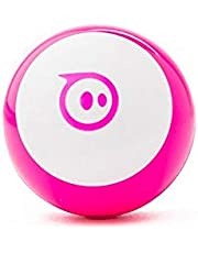 Sphero Mini App-Enabled Programmable Robot Ball - STEM Educational Toy for Kids Ages 8 & Up - Drive, Game & Code with Sphero Play & Edu App (Pink)