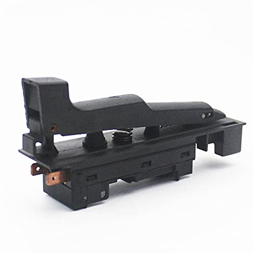 YANHAI Haiyan Store Interruptor de Molino de ángulo de reemplazo Piezas de reparación Ajuste para Bosch GWS20-180 Accesorios para Herramientas eléctricas de Amoladora (Color : Black)