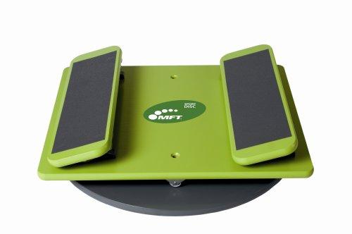 MFT Bodyteamwork Sport Disc - Balance Pad aus Holz für Therapie- Zirkel- und Fitnesstraining, Balance Board inkl. Videokurs und Trainingsanleitung