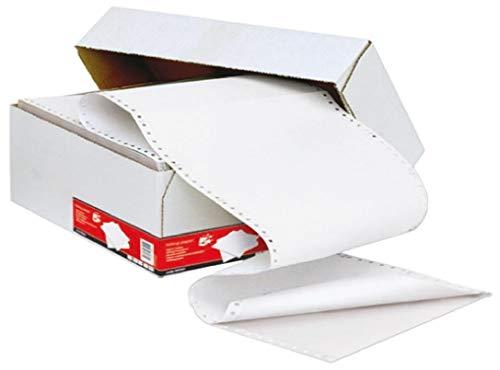RS PRO Druckerpapier, 11 x 241mm 60g/m² Weiß, 1000