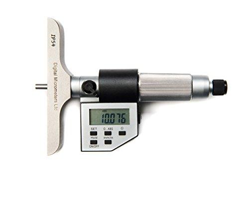 DML 0–25mm micrómetro IP54Digital de profundidad 12meses garantía