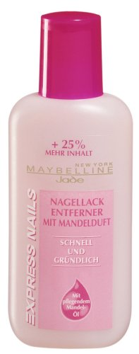 Maybelline Jade Express Nails Nagellackentferner mit Aceton