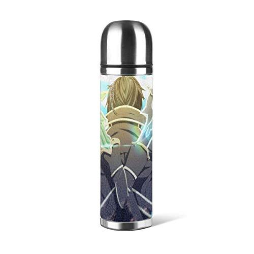 donghu Anime Stainl botella de agua de acero con doble pared aislada vacío prueba diseño deportivo,coche portátil Tr