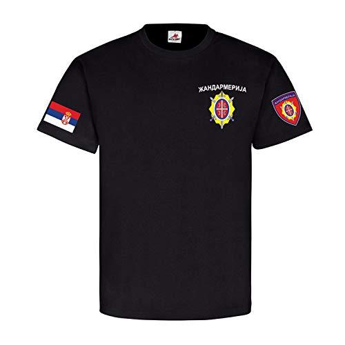 Copytec Zandarmerija Gendarmerie Serbien ???????????? Polizei Militär Einheit #22001, Farbe:Schwarz, Größe:S
