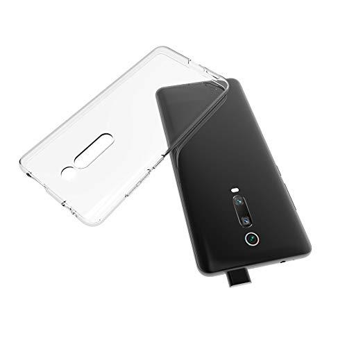 Capa Capinha Para Xiaomi Mi 9T e Redmi K20 e K20 Pro De Tela 6.39Polegadas Capinha Transparente Clear Ultra Fina Silicone - Danet (Transparente)