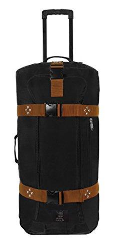 Club Glove Rolling Duffle III Travel Luggage (Black/Copper)