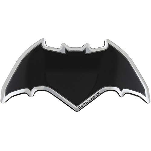 Fan Emblems Batman v Superman: Dawn of Justice Domed Chrome Car Decal - Batman Logo