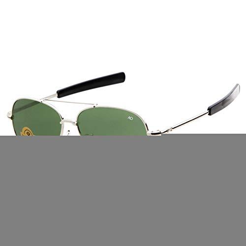ZRTYJ Gafas de Sol Gafas de Sol ópticas Americanas Hombres diseñador de la Marca Marco de Oro Sunnies ao piloto Gafas de Sol Masculinas