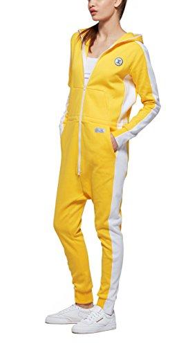 OnePiece Damen Jumpsuit Racer, Gelb (Yellow) - 5
