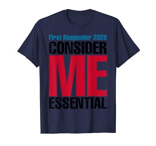 ファーストレスポンダー 2020 私を本質的に考えて Tシャツ