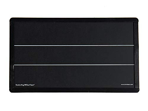 Learning Without Tears Blackboard with Double Lines- Handwriting Without Tears- K–Grade 4+, Fine Motor Skills, Print and Cursive, Wet-Dry-Try- for School and Home Use
