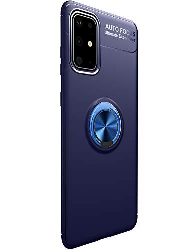Compatible con Samsung Galaxy S20, soporte de metal, ultrafino, funda para teléfono móvil 360 grados, soporte magnético para coche, funda protectora antiarañazos al aire libre antigolpes