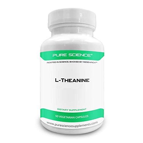 Pure Science のL-テアニン (L-Theanine) - 400mg - 50 ベジタリアンカプセル - アメリカ製 - 海外直送品