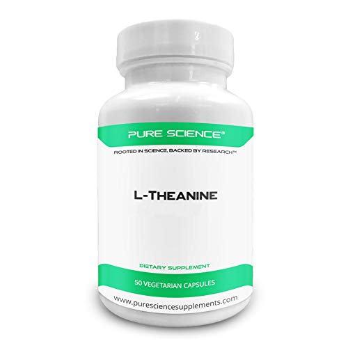 Pure Science L-Theanine Supplement 400 mg – Supports Cognition,...