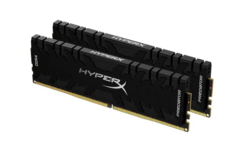 HyperX Predator DDR4 HX450C19PB3K2/16 Módulo de Memoria 16GB Kit*(2x8GB) - DDR4 5000MHz CL19 DIMM, Negro