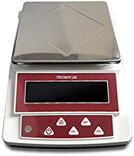 Fristaden Lab Digital Precision Balance Scale   1000g Capacity and 0.01g Accuracy   Measures Grams, Ounces, Pounds and Carats   Count and Weigh Powders, Herbs, Jewelry, Precious Metals and More