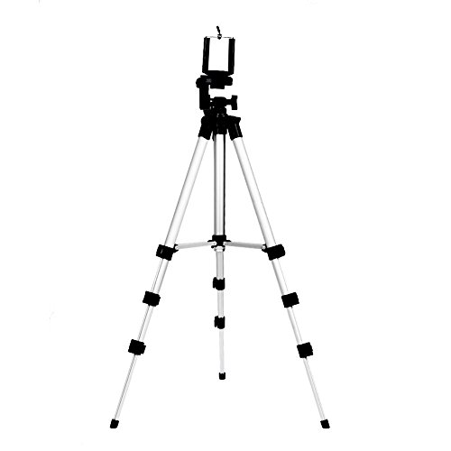 Camera Tripod, Tripod for iPhone,Diamondo Professional Camera Stand Holder for Smart Phone iPhone Samsung with Bag