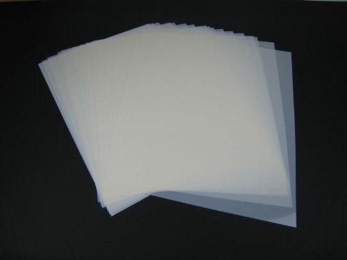 Mylar Airbrush Schablonen Material 50Stück DIN A3 Folie Mylarfolie