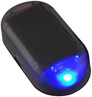 Alftek Warnlicht Blitz Signal des Solarenergie Auto LED Alarm Licht für Auto Sicherheitssystem