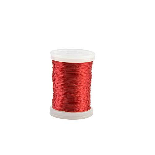 3 Stück Rot Servierfaden Bogen Saiten Schutz String Seil Material Werkzeug Für Reserve Recurve Compoundbogen