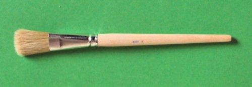 5 smalto vernice pennelli per lavori di verniciatura, taglia 25 mm, chiara China setole (N, 008)