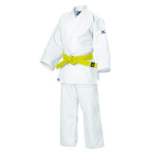 Mizuno - Kimono de Judo Kodomo 3, Color Blanco, tamaño 160 cm