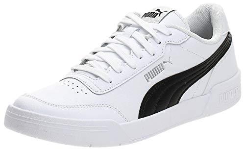 PUMA CARACAL, Sneaker Unisex-Adulto, Bianco White Black, 44 EU