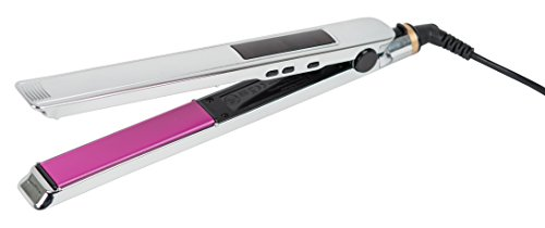 Calista StyleVibe Hair Straightener, Vibrating Flat Iron, Dry Hair Styling Iron, Tourmaline Ionic Ceramic Technology